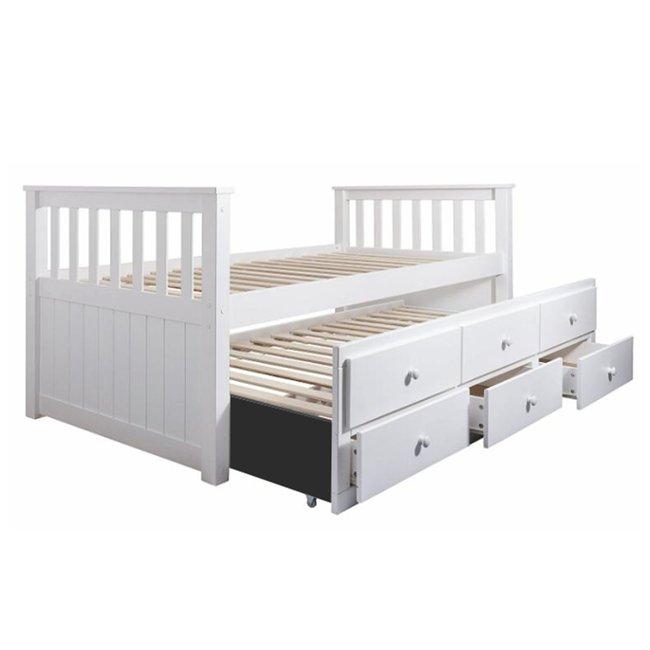 detska postel s pristelkou